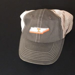 Tennessee Volunteers State cutout hat